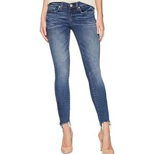 Womens BLANKNYC zip up side jeans